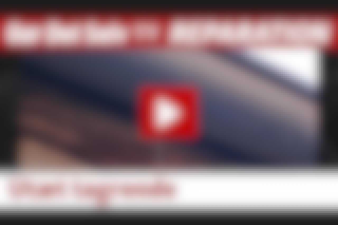 VIDEO: Fiks tagrenden i en fart