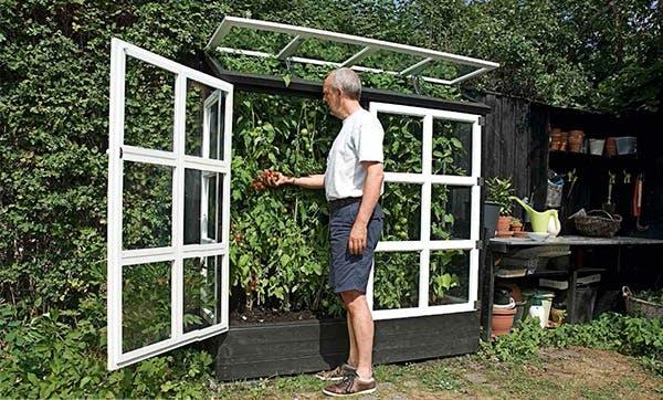 Växthus på väggen Gör Det Sj