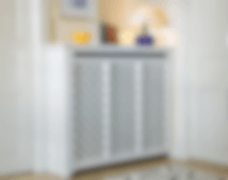 Byg billig radiatorskjuler - af genbrug