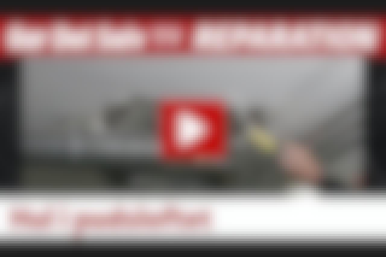 VIDEO: Hul i pudsloftet