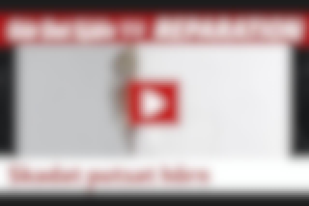 VIDEO: Hack i putsad hörnkant