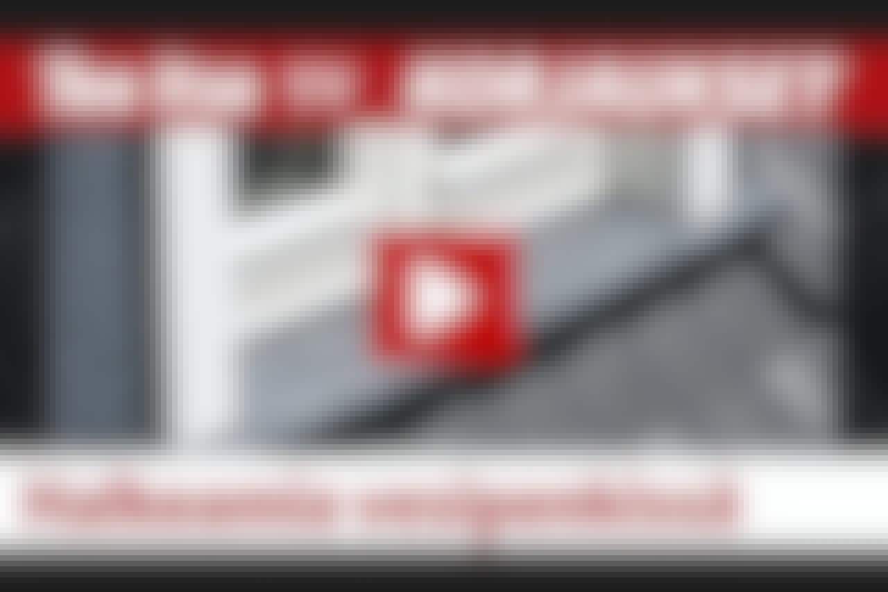 VIDEO: Pelasta vesipenkki ikkunapellin avulla