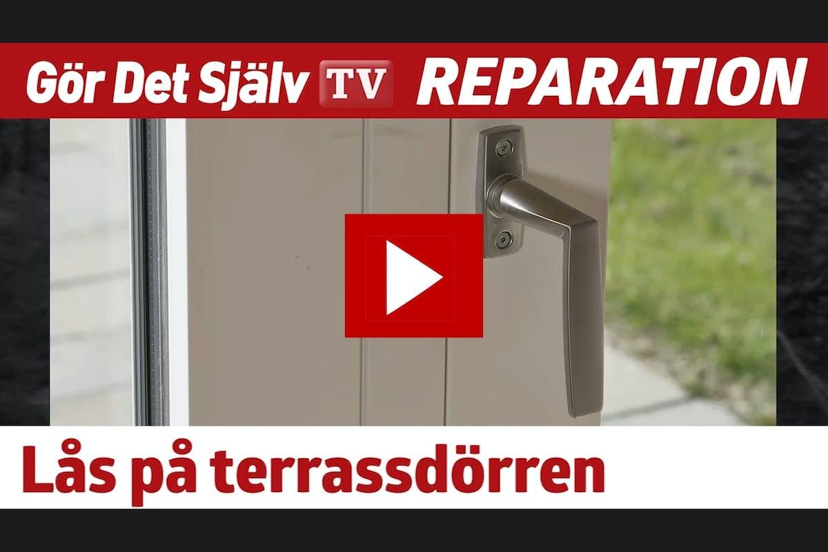 Stoppa tjuven - sätt lÃ¥s pÃ¥ terrassdörren | Gör Det Själv : säker altandörr : Inredning