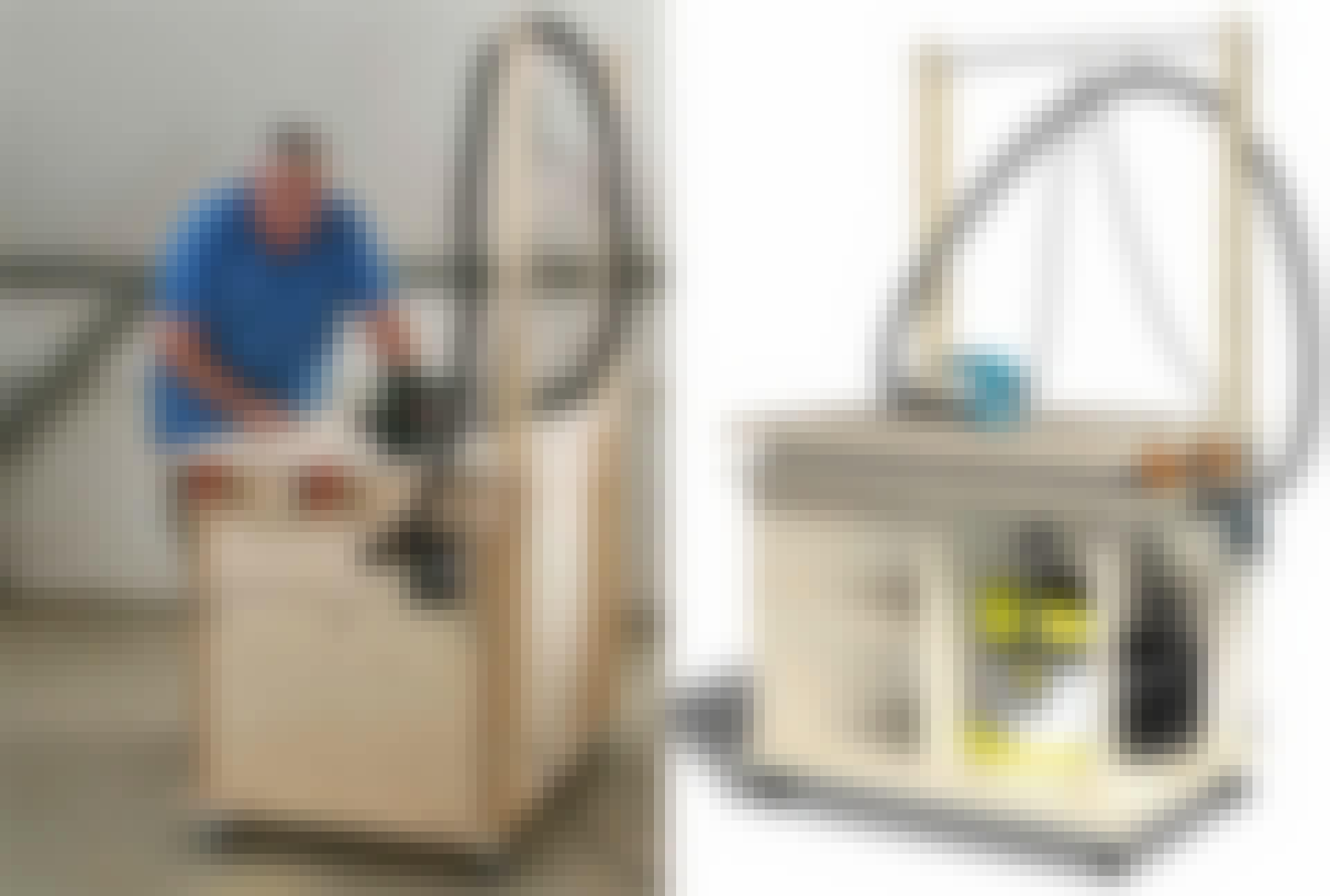 Verdens bedste arbejdsbord med støvsuger og plads til el værktøj