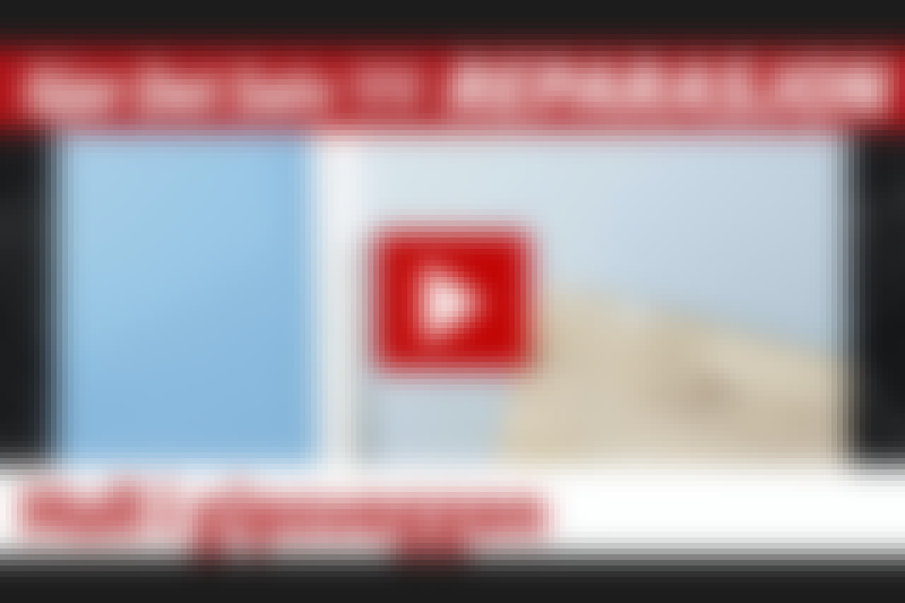 VIDEO: Hull i gipsveggen