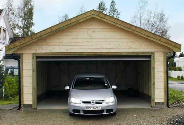 Billig garage byg en billig garage p 3 dage g r det selv for Garage auto lyon 6