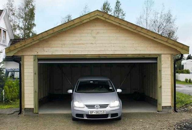 Bygga garage billigt