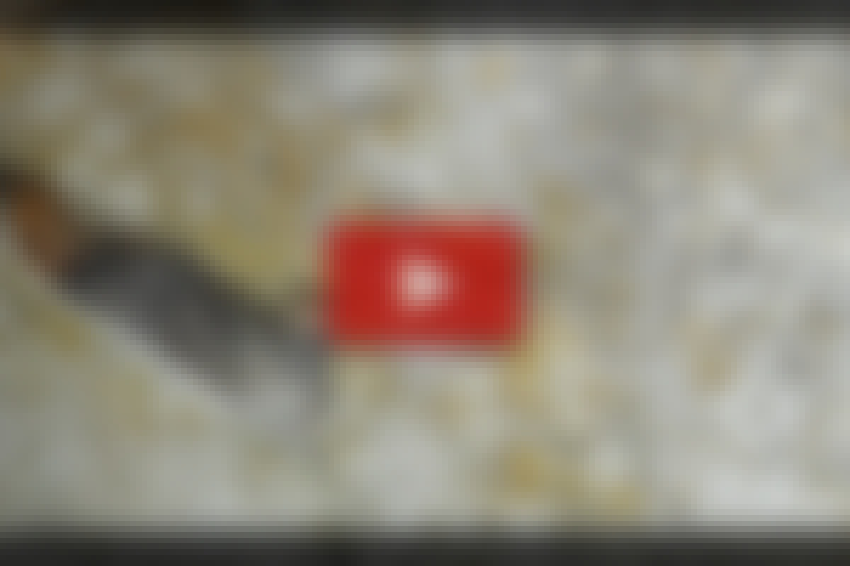VIDEO: Laga hålet i fasaden