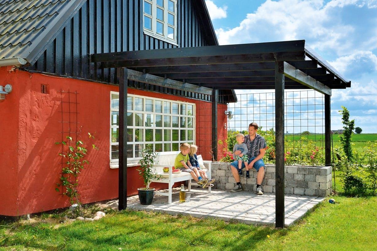 Overdækket terrasse - Sådan bygger du den selv