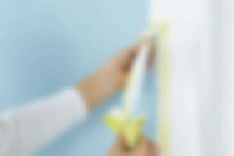 Maalaa seinään viivasuorat linjat