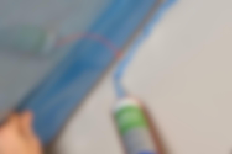 Dampspærre: Brug dampspærreklæber, når dampspærren skal sættes fast på murværk