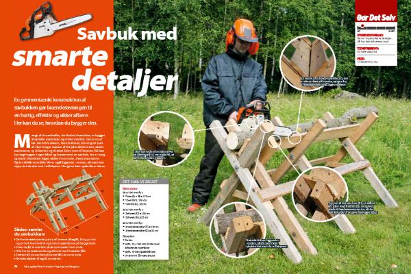 Savbuk: Sådan bygger du en savbuk