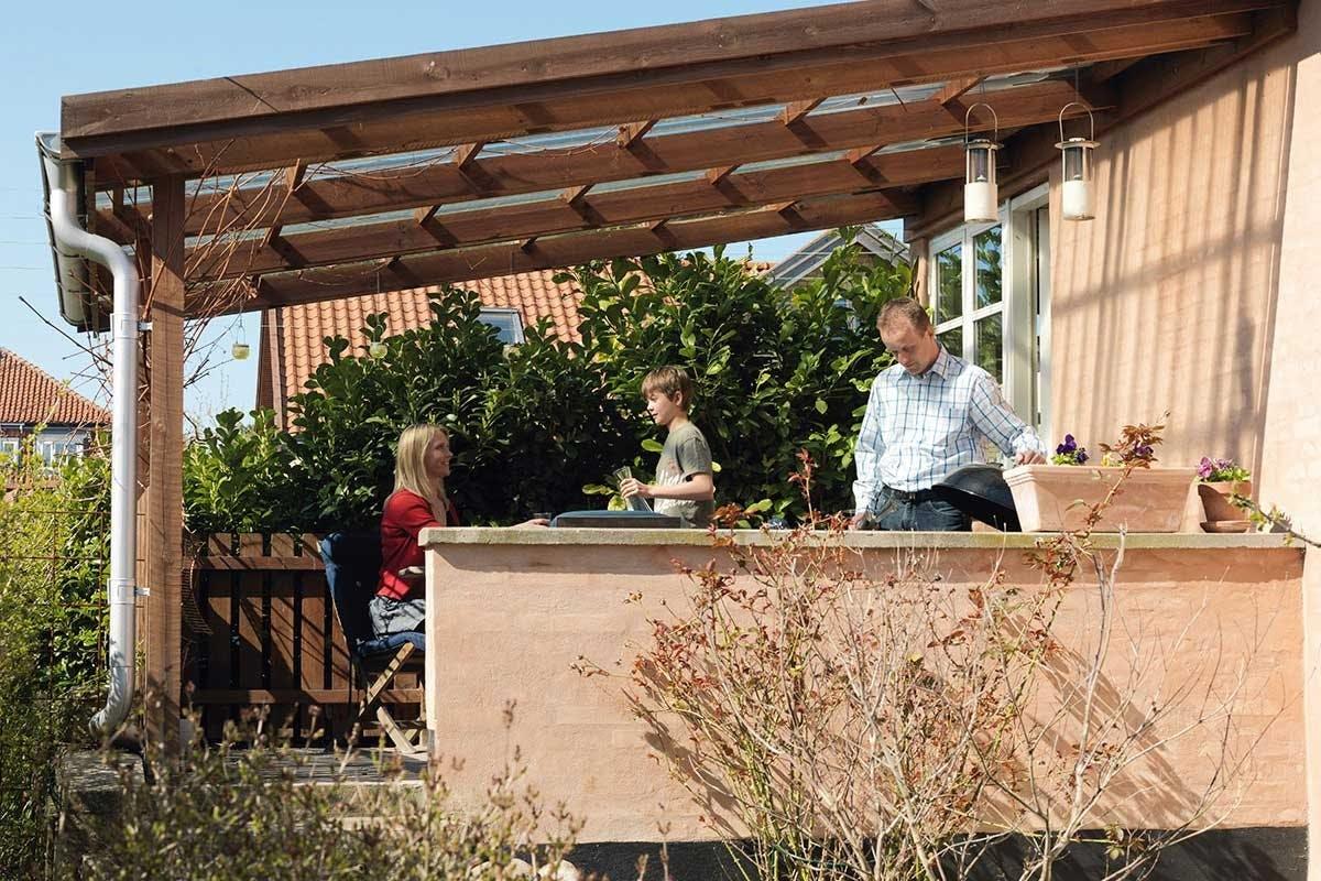 Overbygd terrasse - inspirasjon og veiledning