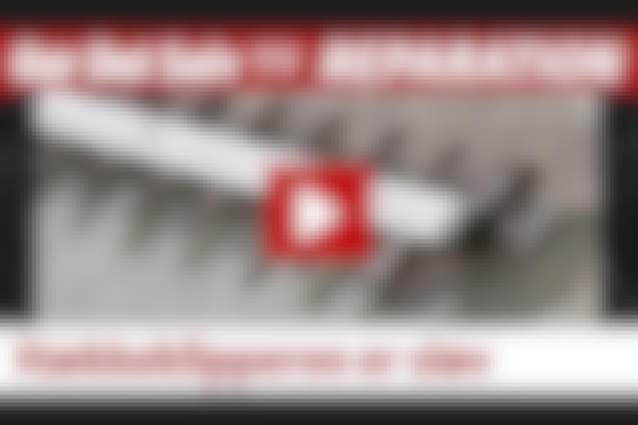 VIDEO: Slib klingen skarp igen