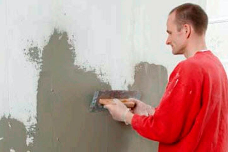 pudsning af væg