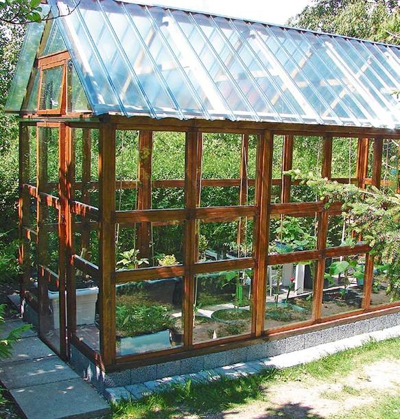 Oppdatert DRIVHUS: Drivhus i glass, plast eller folie? | Gjør Det selv ND-64
