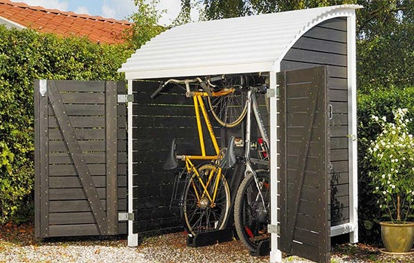 Fantastisk Byg selv et cykelskur UB35