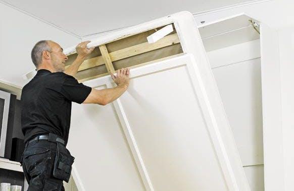 seinälle nostettava sänky Pane vierashuone kuntoon seinäsängyllä | Tee Itse seinälle nostettava sänky
