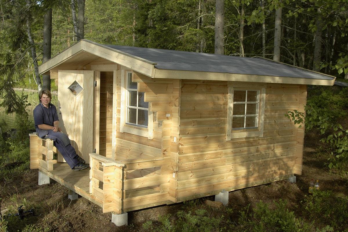 byggesett hytte