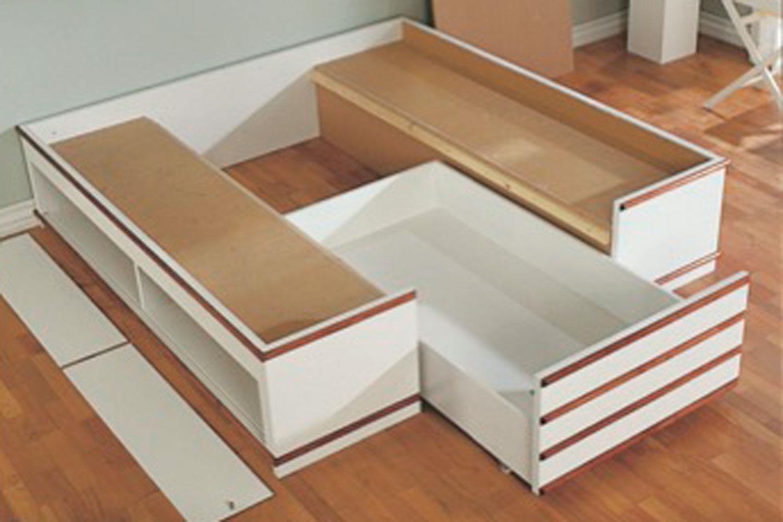Fin Seng med opbevaring - Test af 15+ flotte senge og sengestel QI-22