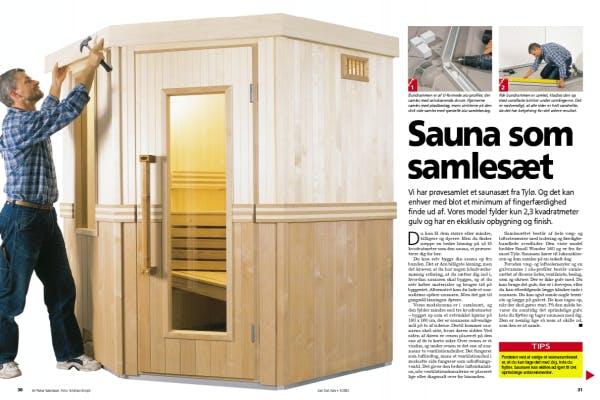 Sauna som samlesæt | Gør Det Selv