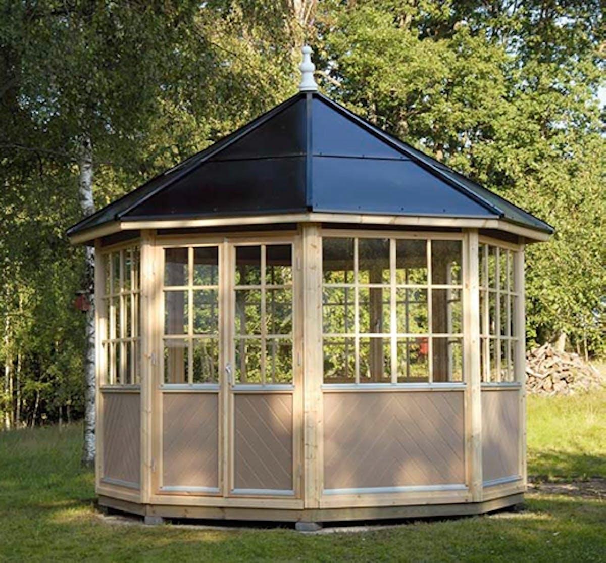 Lusthus i byggsats - bygg ett härligt lusthus | Gör Det Själv : bygga carport själv : Inredning