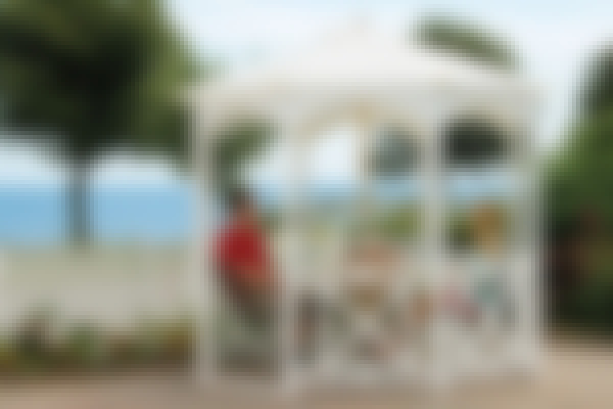 Bygg en transportabel paviljong