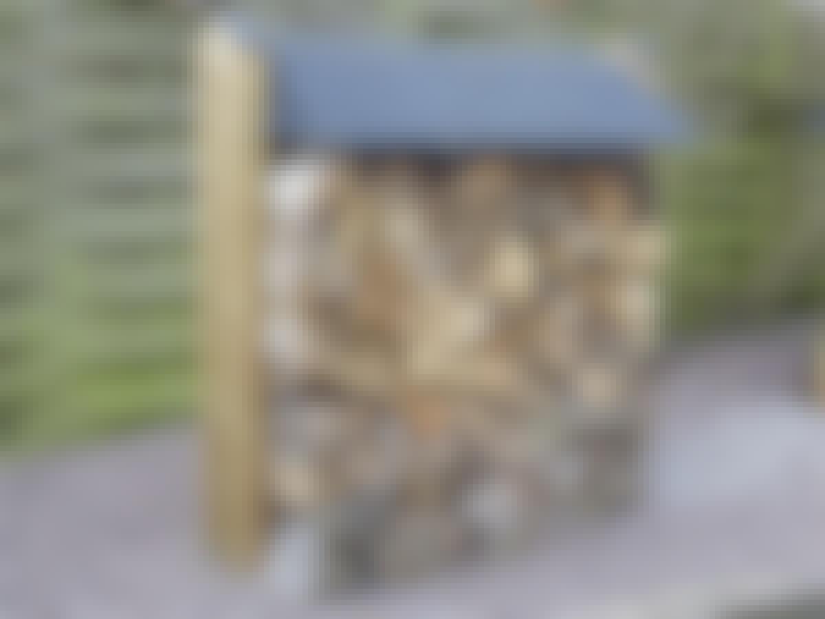 BYG SELV: 3 flotte brændeskure