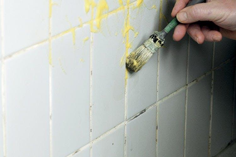 ta bort kalkavlagringar i duschen