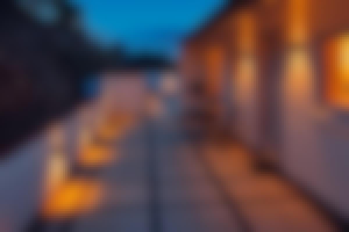Inredning led belysning altan : Udendørs belysning du selv kan sætte op | Gør Det Selv