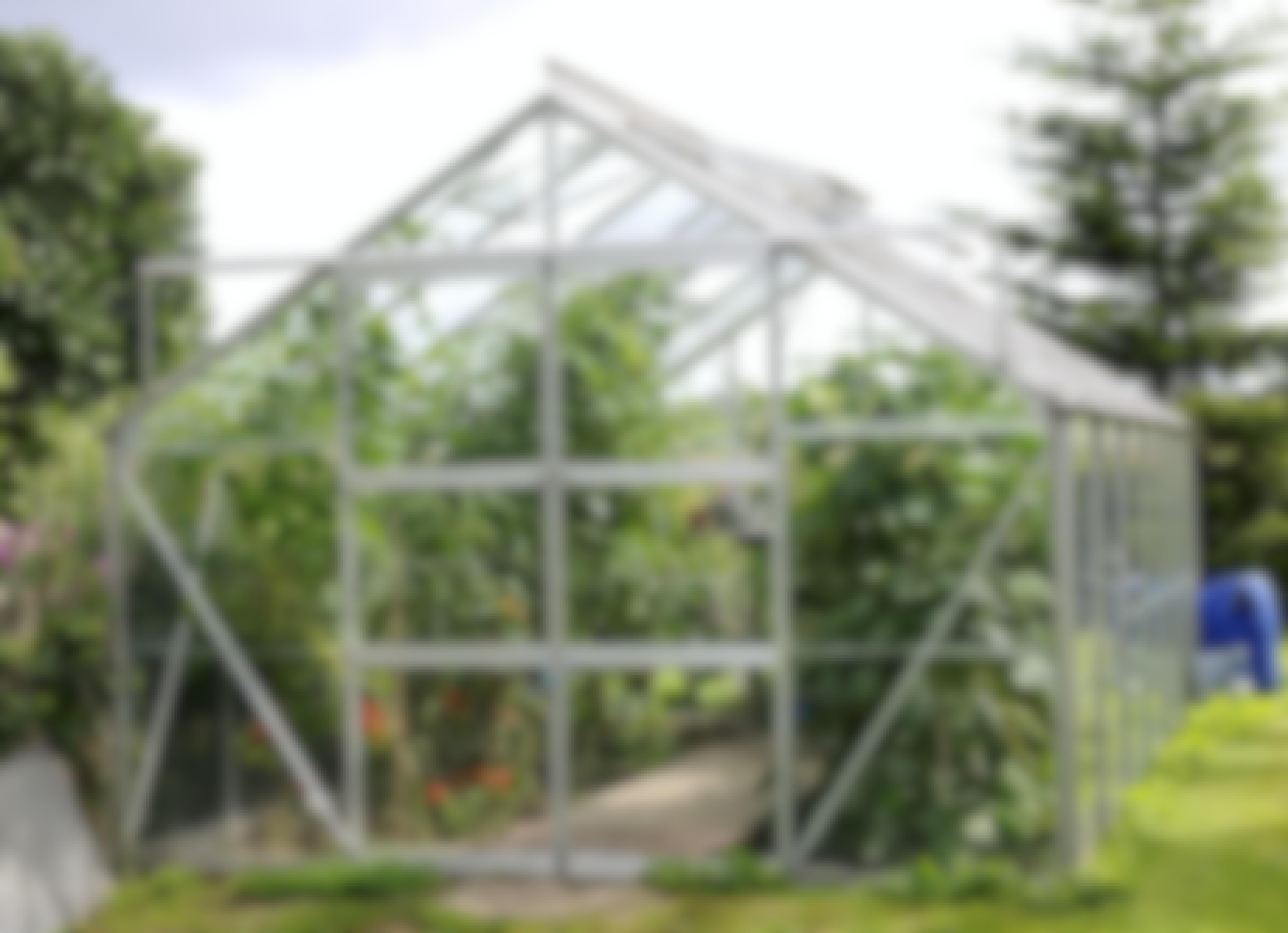 Hur kyler jag ner växthuset?