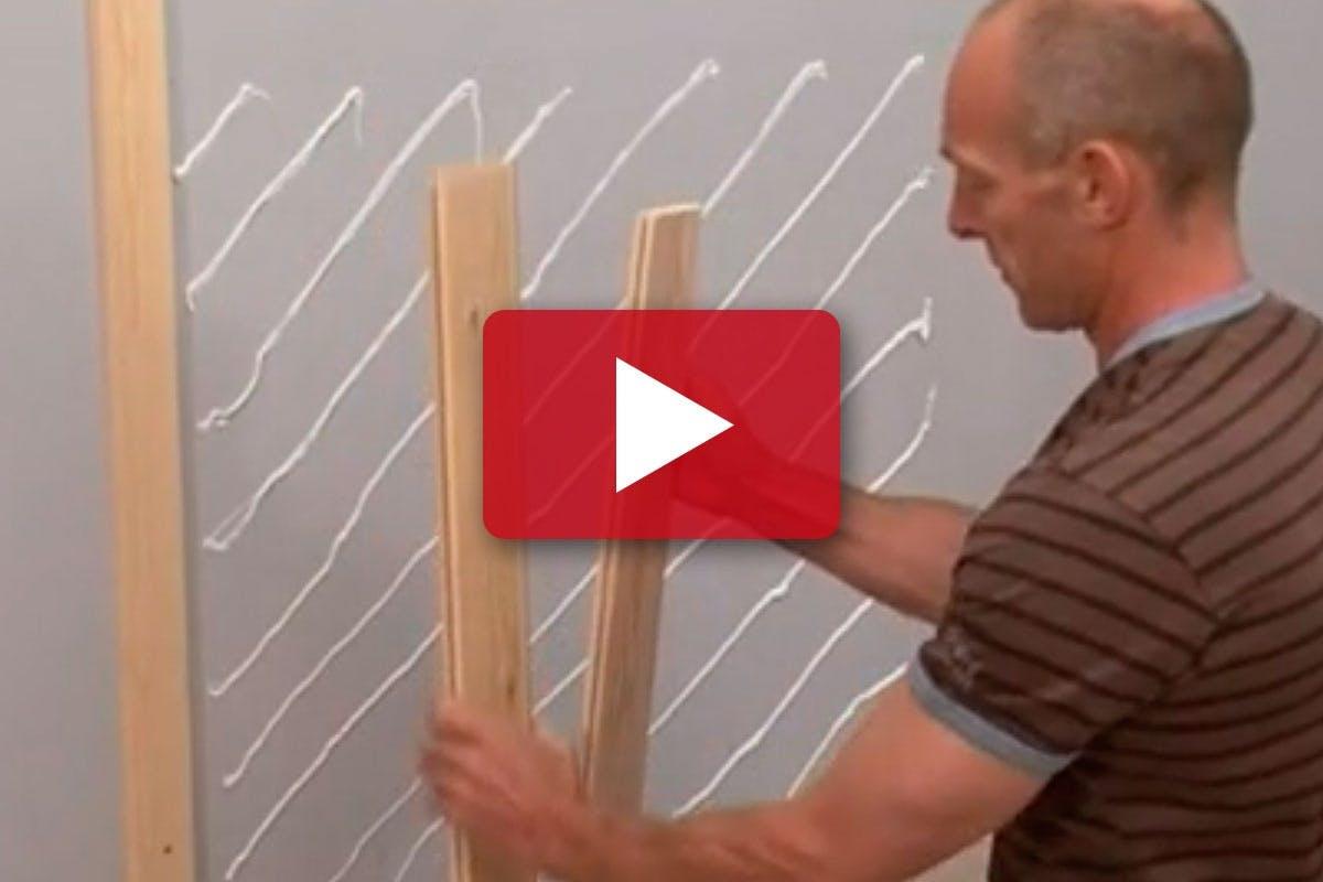 VÆG: Lav flotte høje paneler | Gør Det Selv