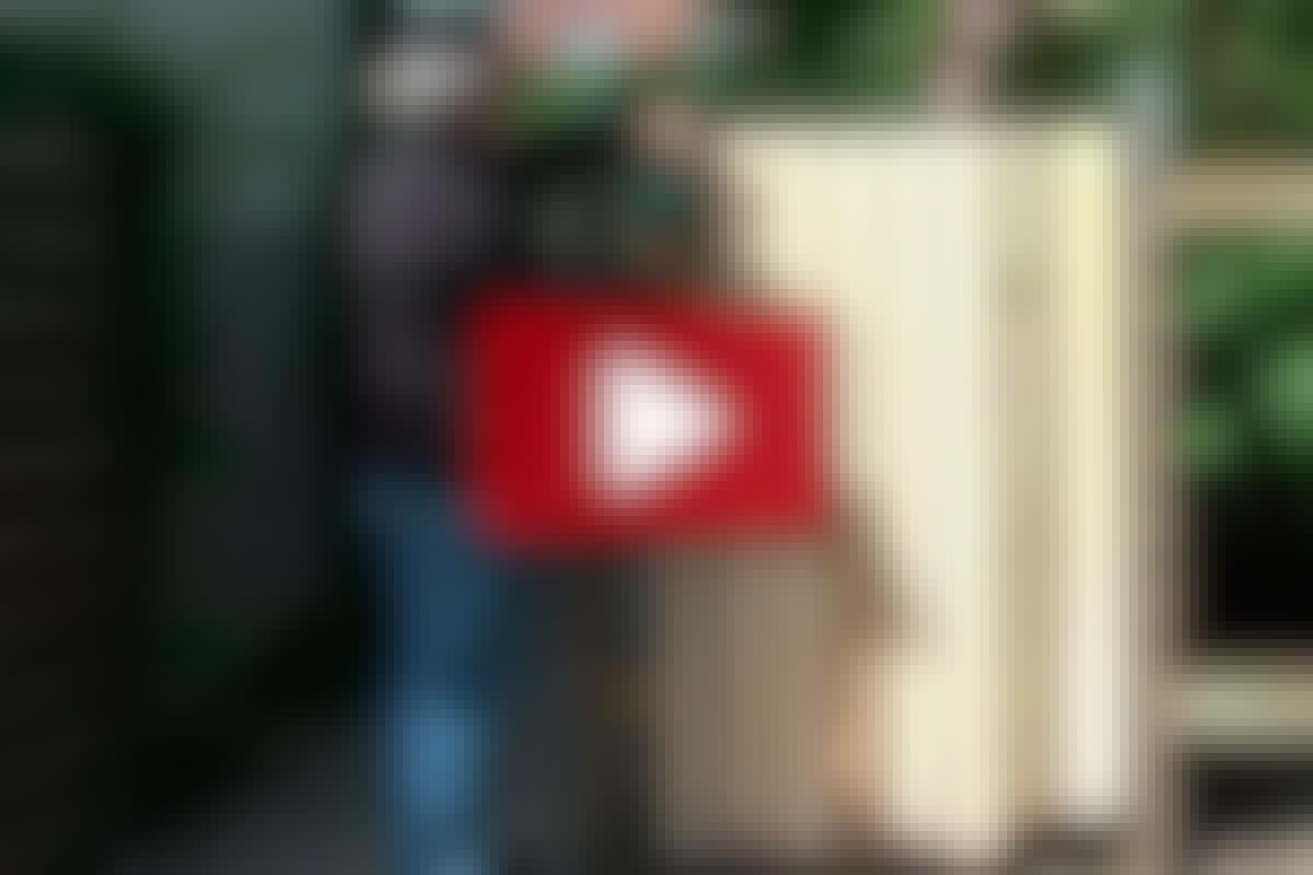 VIDEO: Träskyddsmedel till nytt trä