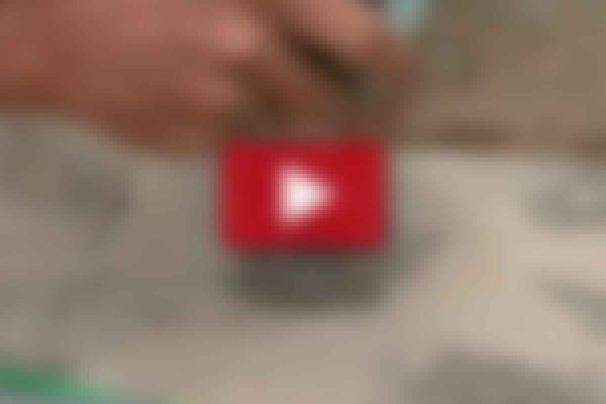 VIDEO: Liimaa tolppakenkä kiinni