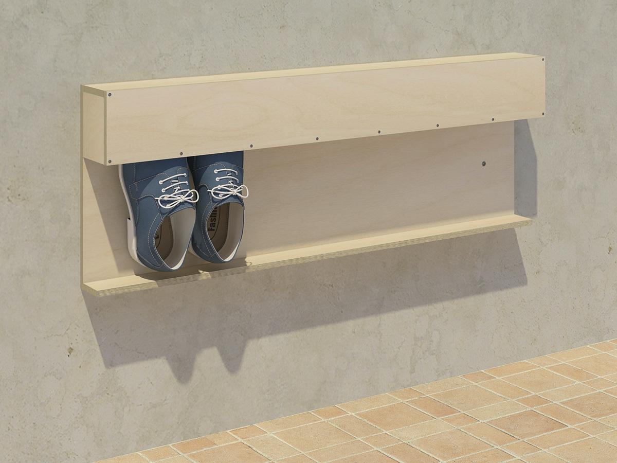 sko oppbevaring på vegg | Sengetøy