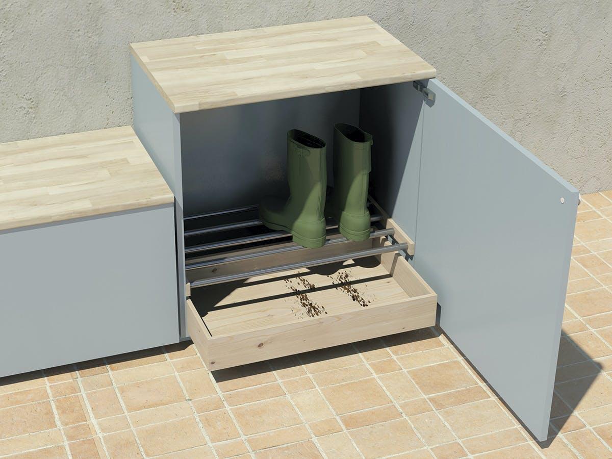 Förvaring u2013 så här får du plats med många skor Gör Det Själv