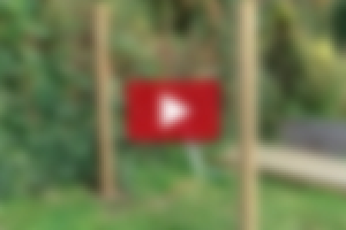 HEGN: Lav et hurtigt hegn med H-stolper