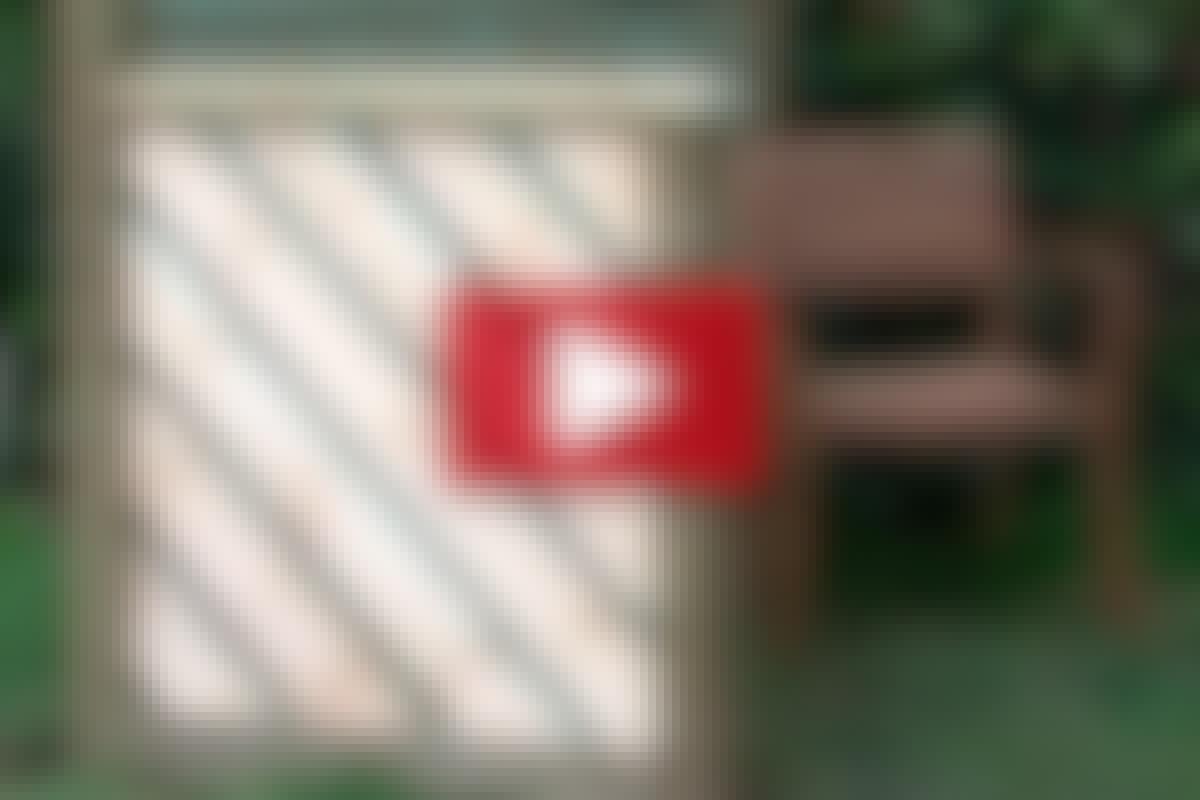 HEGN: Lav et enkelt og flot læhegn i en ramme