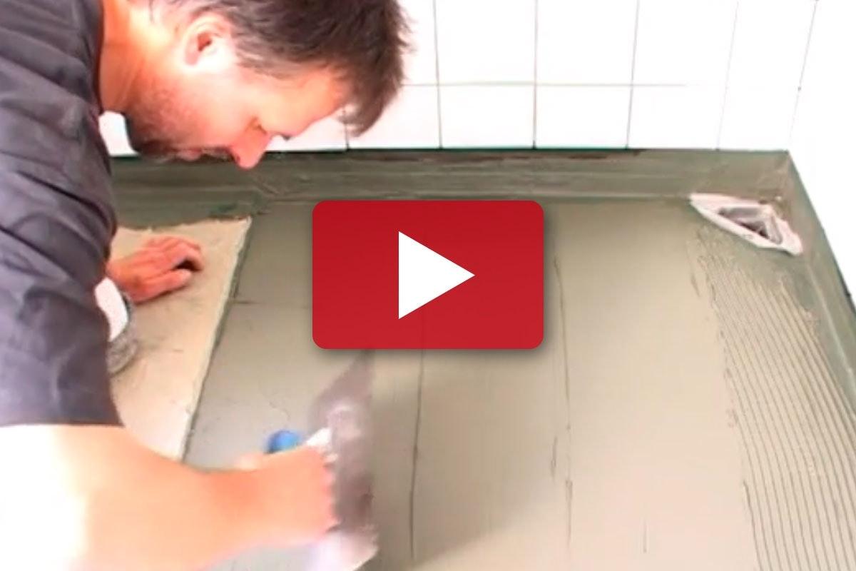 Renovering Af Badevaerelse Lav Et Vandtaet Gulv I Badevaerelset Gor Det Selv