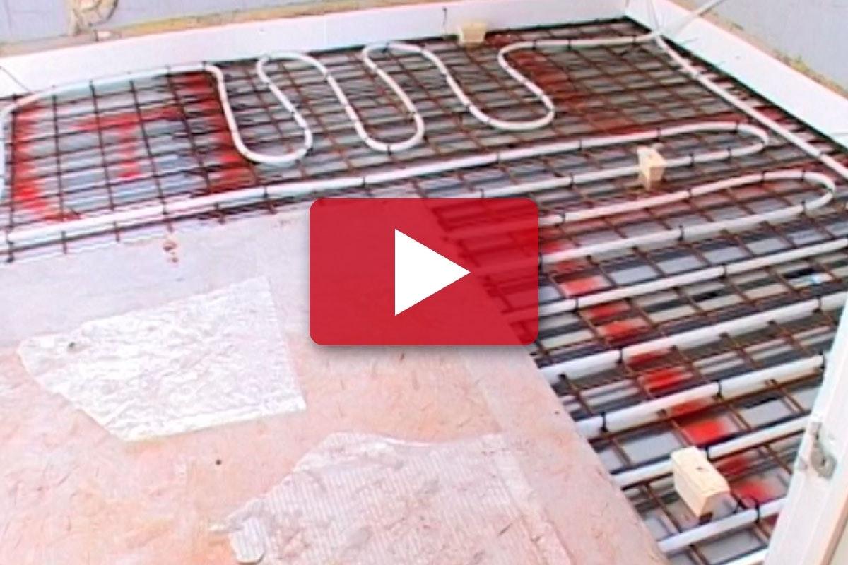 Picture of: Renovering Af Badevaerelse Stob Gulv Med Gulvvarme Gor Det Selv