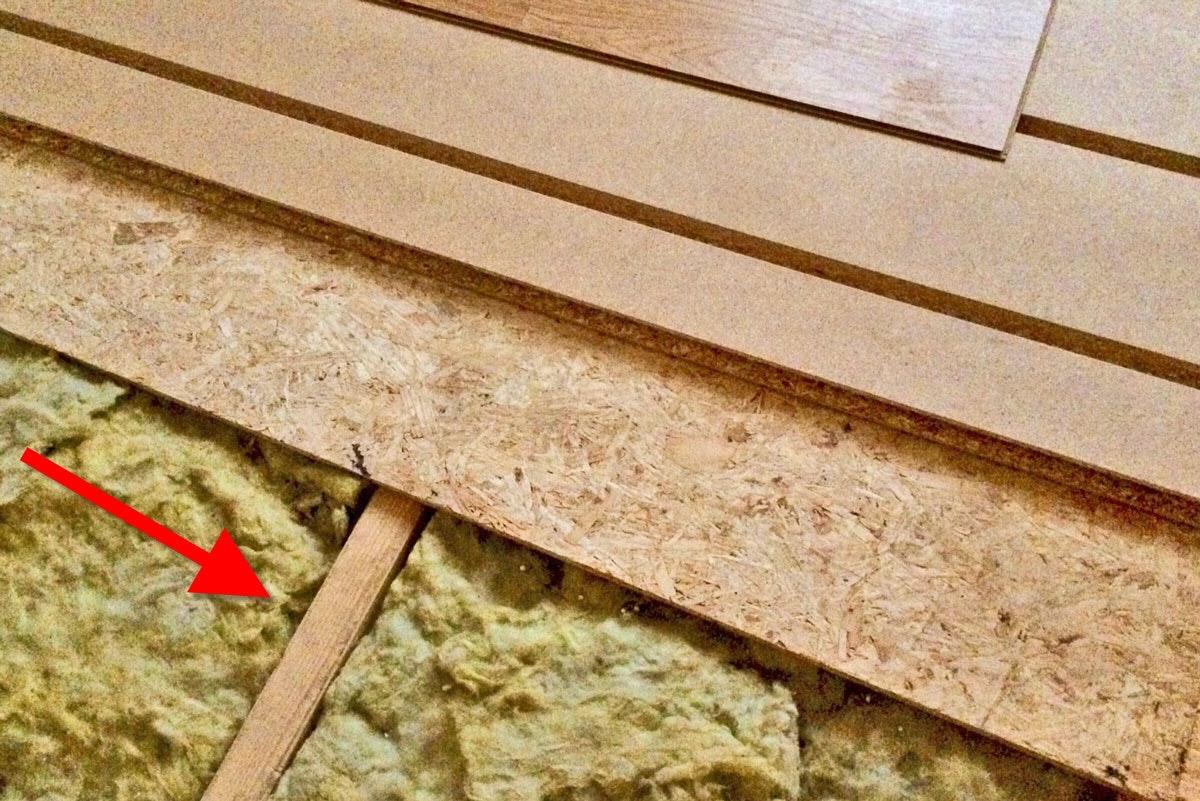 isolering golvbjälklag tjocklek