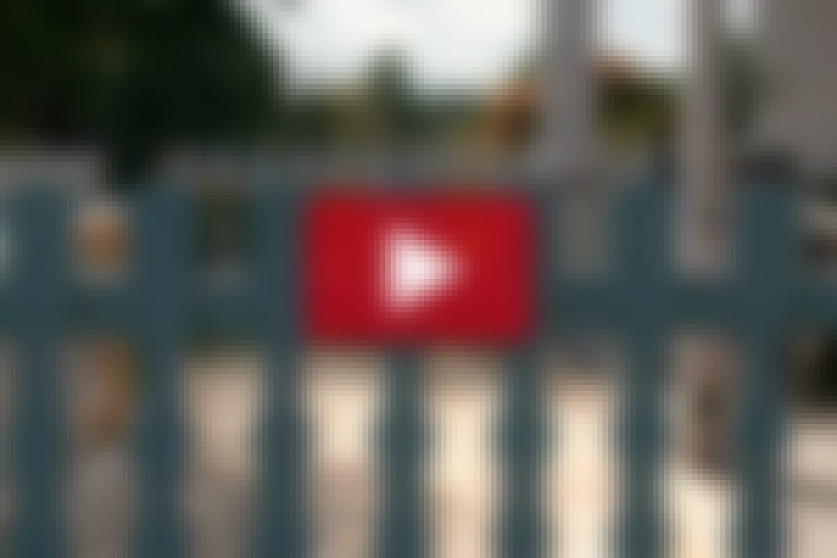 Såga till staketspjälorna själv