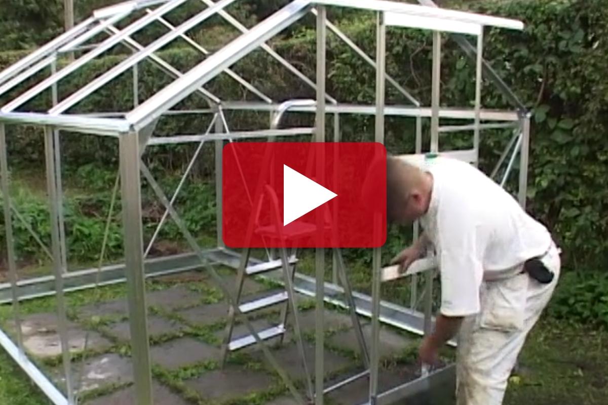 BYGG VÄXTHUS: Sätta upp växthus   Gör Det Själv
