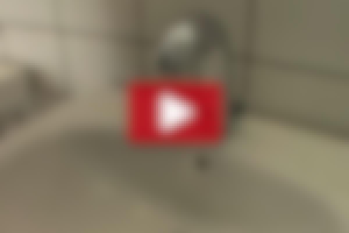 Vannkran med fotocelle