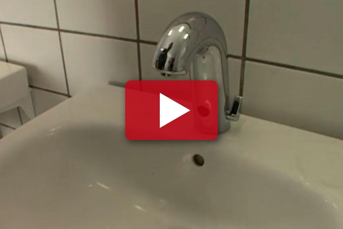 Cool ENERGI-TIP: Skift til en vandhane med censor | Gør Det Selv OC23