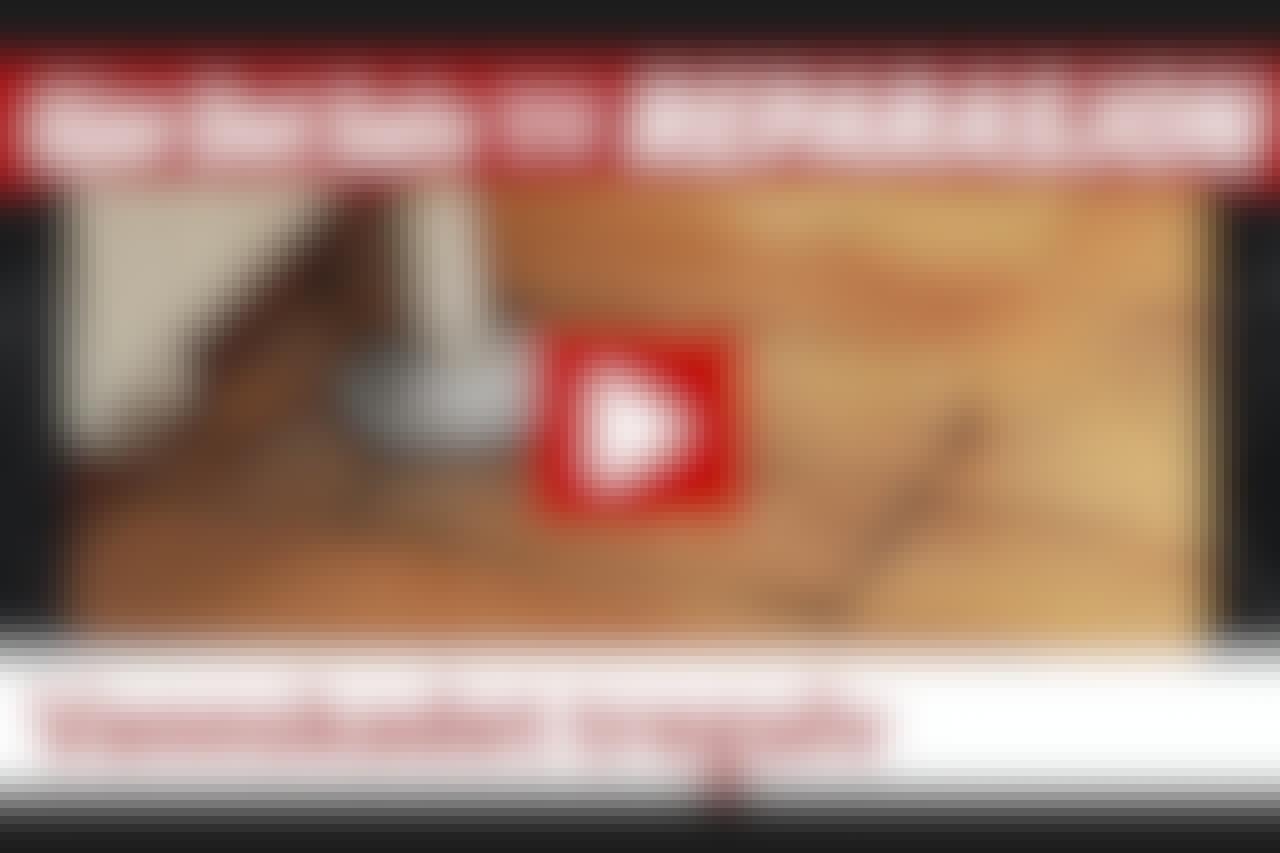 VIDEO: Vannskadet tregulv