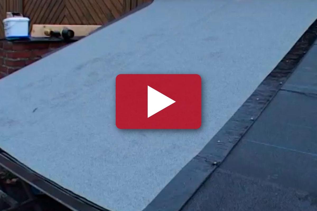 TAKTEKKER-TEKNIKK: Lim på takpappen | Gjør Det selv