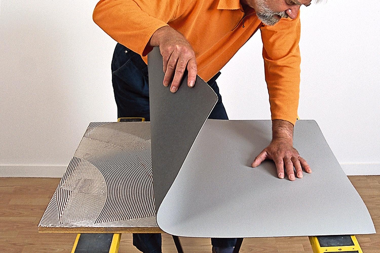 vinyl bordplade