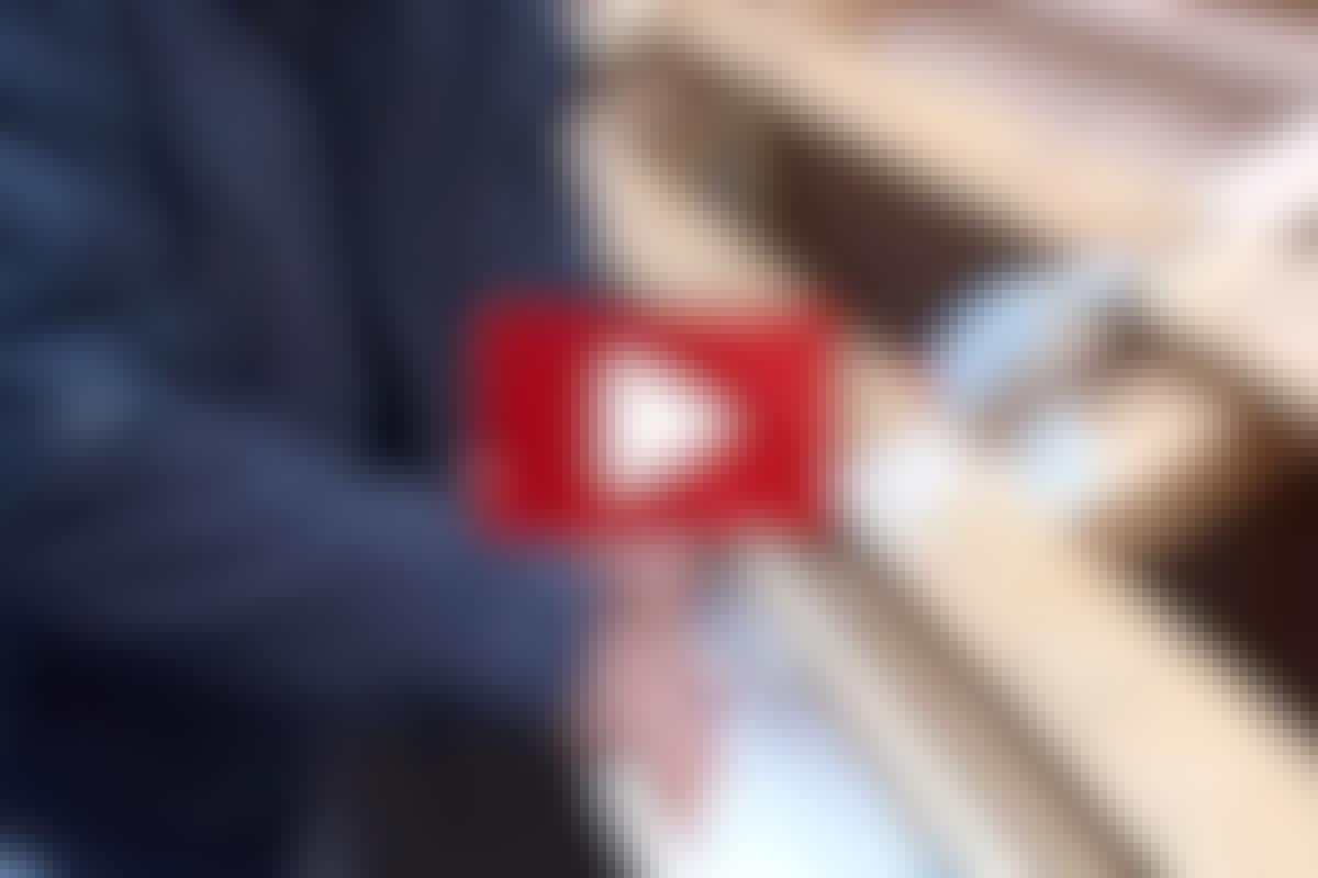 VIDEO: laga en läckande hängränna
