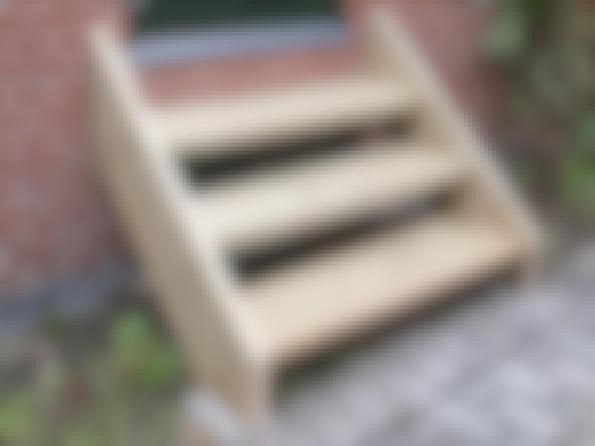 udendørs trappe gør det selv